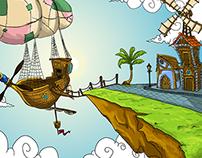 "Concepts for the game ""Mistério dos Sonhos"""