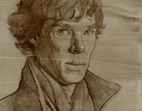 Drawing_Benedict Cumberbatch_Winter2014