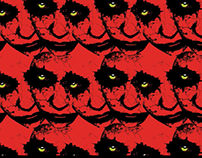 Monster Mash Digital Textile Prints
