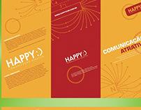 Folder Happy Comunicação
