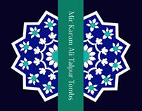 Book Design - Mir Karam Ali Talpur Tombs