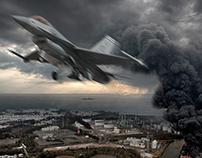 Photoshop Breakdown: Bombing Run