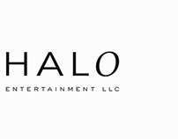 Halo Entertainment logo design