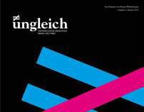 ungleich_magazine design