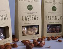 Flores Farm Organic Nut Range
