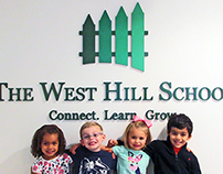 The West Hill School Visual Re-Brand