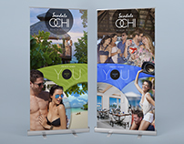 Art Direction for Sandals Resorts Event Banners/Email