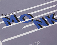 Bluenote Jazz, Typographic Album Covers