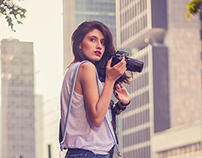 Bolsa para fotógrafos de Larissa Delegrado
