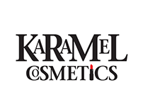 Karamel Cosmetics Logo Design