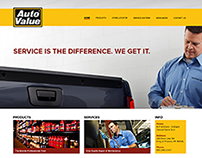 Auto Value Website
