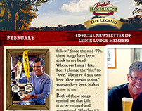 Leinenkugel's - Leinie Legend Digital Newsletter