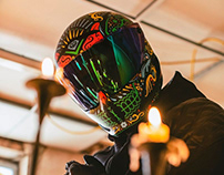 Day of the Dead Motorcycle Helmets