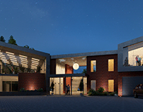 CGI for a project in Lytham Saint Annes