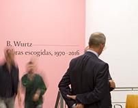 B. Wurtz exhibition. La Casa Encendida.