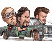 Trailer Park Boys Illustration