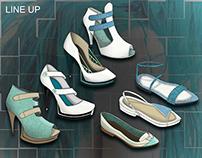Intro accessory- footwear (DKNY)