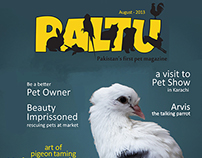 Editorial Design for Paltu Magazine