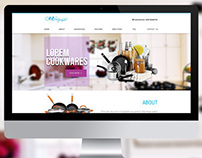COOLPEX Cookwares -  Responsive Web design