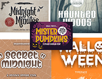 Best And Latest Halloween Fonts For Free