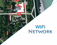 WiFi Networking with wireless access points and a Serve