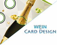 Weinkarte Design