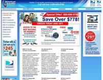 Web Design & Development - American Satellite - DirecTV