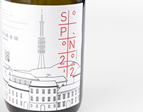 SOPRON2012 - wine label