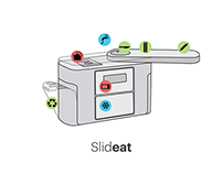 Slideat Monobloc Kitchen