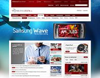 Mediarun Website