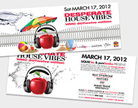 Some Past Event Flyers