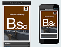 Manipal Animation App -My  First App