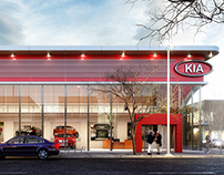 KIA Motors.Designed by Kenan Çilingir.