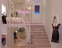 Lepore Fashionable Bespoke Sweeping Staircase