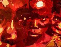 Ilustrações de um Moçambicano