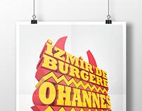 Ohannes Burger - Poster Design