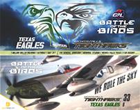 Wichita Falls Nighthawks Football Facebook Banners