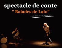 """spectacle de conte """" Balades de Lalo"""""""