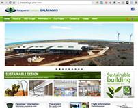 Aeropuerto Ecológico Galápagos redesign 2013