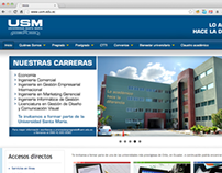 Universidad Santa María website