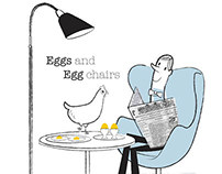 Eggs and Egg Chairs