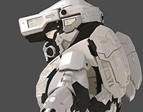 """Armor Halo high-poly"""" juin 2014 """""""