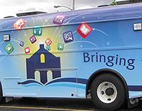 Ashland Public Library Bookmobile 3-sided Wrap