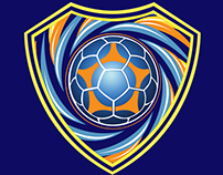 Santos Soccer School - logo/badge design