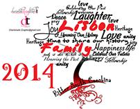 Typography Tree Family Reunion T Shirt Design