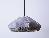 FILZ I - Wood and Felt lamp