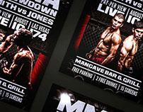 MMA Throwdown Flyer Template