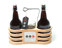 Branded Growler Carrier