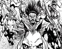 Comic Pages - Samurai of the Plains