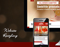 Website restyling // Sanbittèr Nestlé